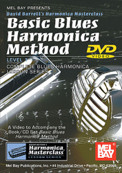 Basic Blues Harmonica Method, Level 1 Book/Cd Set