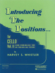 Introducing The Positions For Cello, Volume 2 - Second, 2-1/2, Third, 3-1/2