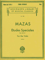 Etudes Speciales, Op. 36 - Book 1, Viola Method