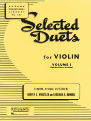 Selected Duets For Violin - Volume 1, Medium First Position