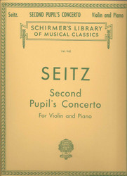 Pupil's Concerto No. 2 In G Major, Op. 13, Score And Parts