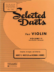 Selected Duets For Violin - Volume 2, Advanced First Position