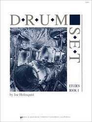 Drum Set - Etudes, Book 1