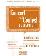 Concert And Contest Collection, Trombone - Solo Part, Trombone - Solo Part