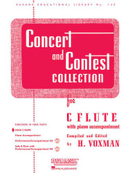 Concert And Contest Collection, C Flute - Solo Part, Solo Part