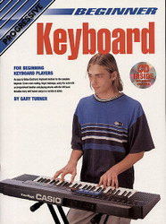 Progressive Beginner Electronic Keyboard Gary Turner - Book/Dvd/Cd