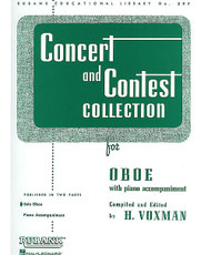 Concert And Contest Collection, Oboe - Solo Part, Oboe - Solo Part