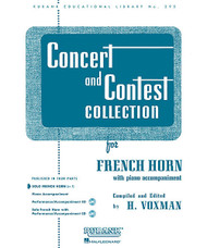 Concert And Contest Collection, French Horn (In F) - Solo Part, French Horn (In F) - Solo Part