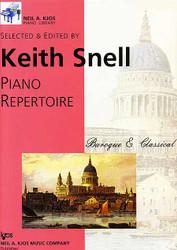Kjos Piano Library Baroque & Classical Preparatory