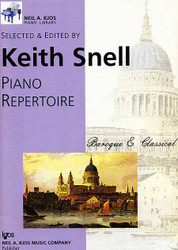 Kjos Piano Library Baroque & Classical Level 1