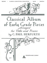 Classical Album Of Early Grade Pieces, For Cello And Piano
