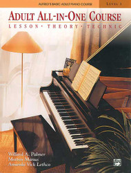 Alfred's Basic Adult All-In-One Course, Book 1 Lesson * Theory * Technic