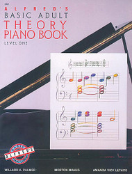 Alfred's Basic Adult Piano Course: Theory Book 1