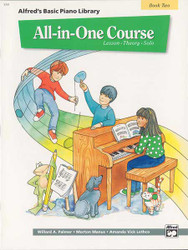Alfred's Basic All-In-One Course, Book 2 Lesson * Theory * Solo