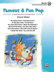 Famous & Fun Pop, Book 2