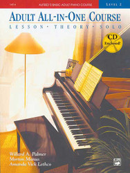 Alfred's Basic Adult All-In-One Course, Book 2 Lesson * Theory * Solo 1