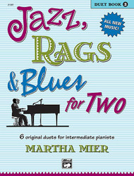 Jazz, Rags & Blues For Two, Book 2