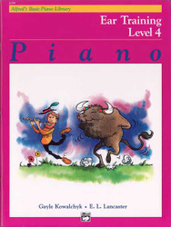 Alfred's Basic Piano Course: Ear Training Book 4