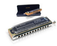 Hohner 7540 270 Super Chromonica Deluxe Harmonica - Key of C