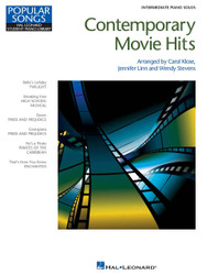 Contemporary Movie Hits, Intermediate Piano Solos