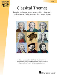 Classical Themes - Level 3, Hal Leonard Student Piano Library, Book