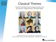 Classical Themes - Level 1, Favorite Orchestral Works Arranged For Piano Solo, Book