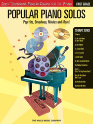 Popular Piano Solos - Grade 1, Pop Hits, Broadway, Movies ! John Thompson's Modern Course For The Piano Series, Book Only