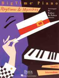 Bigtime Ragtime & Marches, Level 4, Book