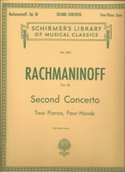 Concerto No. 2 In C Minor, Op. 18, Piano Duet