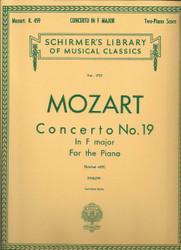 Concerto No. 19 In F, K.459, Piano Duet