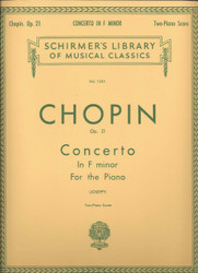 Concerto No. 2 In F Minor, Op. 21, Piano Duet