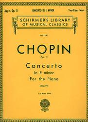 Concerto No. 1 In E Minor, Op. 11, Piano Duet, Piano