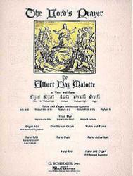 Lord's Prayer, Medium Low Voice (B-Flat) And Piano, Medium Low Voice (B-Flat) And Piano