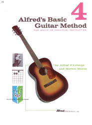 Alfred's Basic Guitar Method, Book 4 The Most Popular Method For Learning How To Play