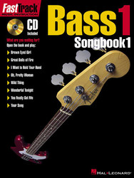 Fasttrack Bass Songbook 1 - Level 1, Book/Cd Pack