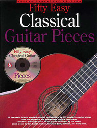 50 Easy Classical Guitar Pieces, Guitar Tab