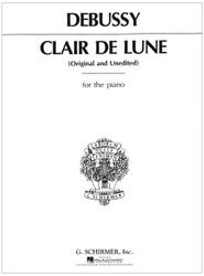 Claire De Lune, Piano Solo