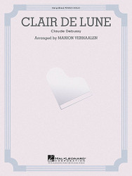 Clair De Lune  Upper Intermediate Solo, Piano Solo
