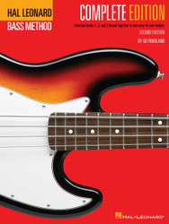 Hal Leonard Electric Bass Method - Complete Edition, Contains Books 1, 2, And 3 Bound Together In One Easy-To-Use Volume, Book