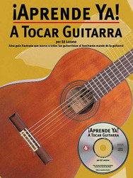 Aprende Ya! Tocar Guitarra, Book/Cd Pack