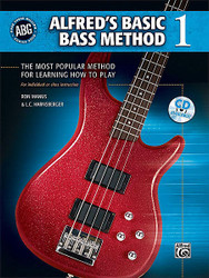 Alfred's Basic Bass Method, Book 1 The Most Popular Method For Learning How To Play