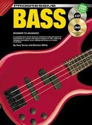 Progressive Bass Gary Turner; Brenton White - Book/Dvd/Cd