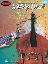 The Art Of Walking Bass, A Method For Acoustic Or Electric Bass, Book/Cd Pack