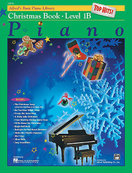 Alfred's Basic Piano Course: Top Hits! Christmas Book 1B