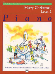 Alfred's Basic Piano Course: Merry Christmas! Book 2