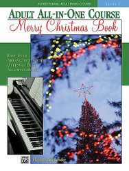 Alfred's Basic Adult All-In-One Course Merry Christmas Book, Level 1