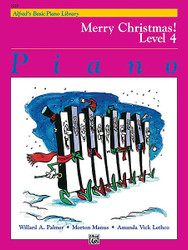 Alfred's Basic Piano Course: Merry Christmas! Book 4