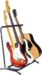 Fender® Guitar Stand | Multi Folding for 3 Instruments