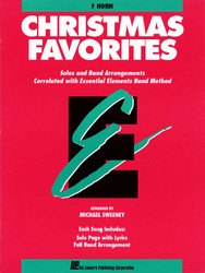 Essential Elements Christmas Favorites, F Horn