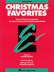 Essential Elements Christmas Favorites, Percussion